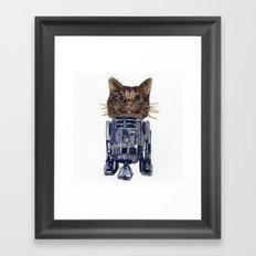 Cat2D2 Framed Art Print