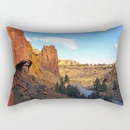 Chain Reaction Smith Rock, OR Rectangular Pillow