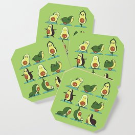 Avocado Yoga Coaster