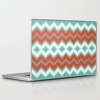 ikat Laptop & iPad Skins featuring Ikat by Deepti Munshaw