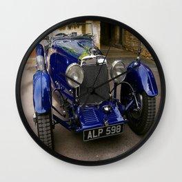 ASTON MARTIN 1933 (Colour Version) Wall Clock