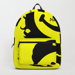 Have A Nice Che Funny Pop Culture Yellow Backpack