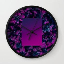 minima Linear Gradient Wall Clock