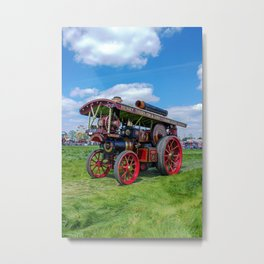 "Showmans Engine ""Lord Nelson"" Metal Print"