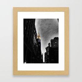 Chrysler Building, New York City Framed Art Print