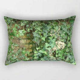 ANOTHER IVY IN THE WALL Rectangular Pillow