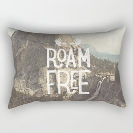 Roam Free - Yosemite Rectangular Pillow