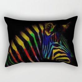 TheRainbow Zebra Rectangular Pillow