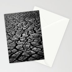 Cracked Monochrome Stationery Cards