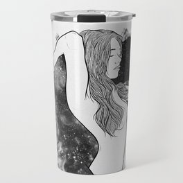 The courage of deeply love. Travel Mug