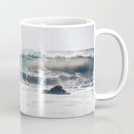 Malibu, mint, SoCal, beach photography, Los Angeles, beach, seaside, California, surf, California p Coffee Mug