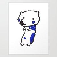 Bearly Art Print
