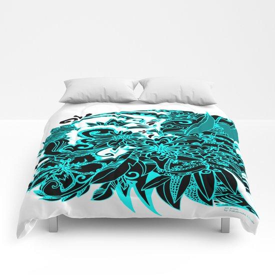 FLOWER DTS Comforters