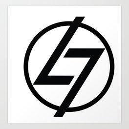 L7 Logo Art Print