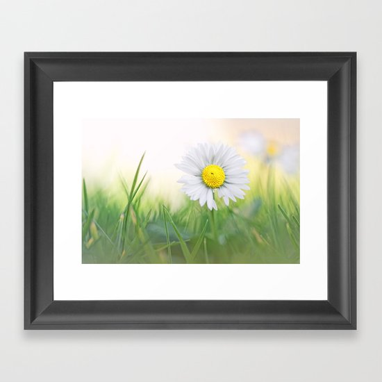 Natural born beauty... Framed Art Print