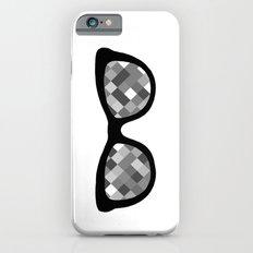 Diamond Eyes Black and White iPhone 6 Slim Case