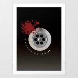 Psycho - Alternative Movie Poster Art Print