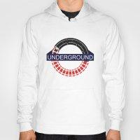 velvet underground Hoodies featuring UNDERGROUND by Kasım Aliosman