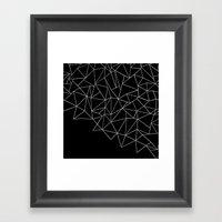 Ab Storm Black Framed Art Print