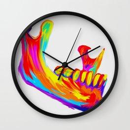 Mandible Wall Clock