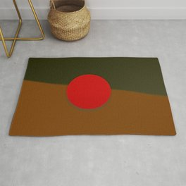 Red point at the border ... Rug