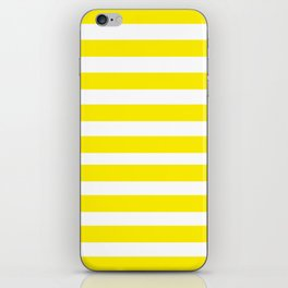 Yellow Lines iPhone Skin