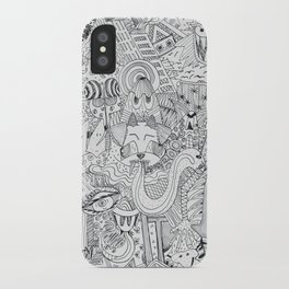 Monsters In My Closet iPhone Case
