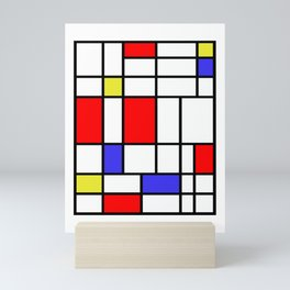 Mondrian #60 Mini Art Print