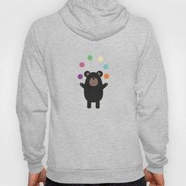 Black Bear juggling Hoody