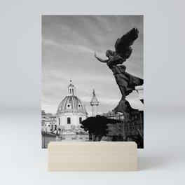 Angelo on Rome Mini Art Print