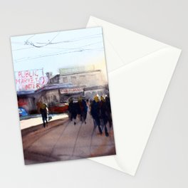 Pikes Place Market Stationery Cards