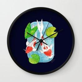 Koi no. 4 Wall Clock