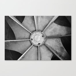 Industrial Fan Canvas Print