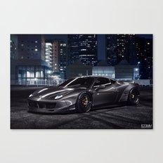 Liberty Walk Ferrari 458 Canvas Print