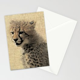 Cheetah cub Stationery Cards