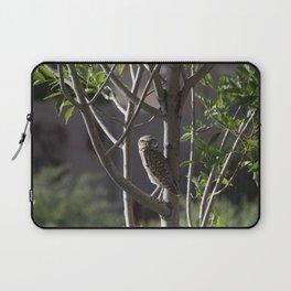 Burrowing Owl in a Tree Laptop Sleeve