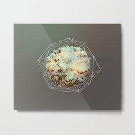 Unknown: texture Metal Print