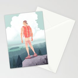 Feel The Breeze Stationery Cards