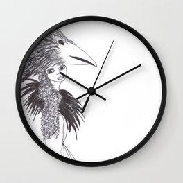 Ode To Herakut Wall Clock