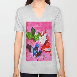 BUTTERFLiES TRANSFORMATiON | Craft Kid Unisex V-Neck