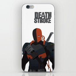 Deathstroke art iPhone Skin