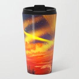 Orange Christmas Travel Mug