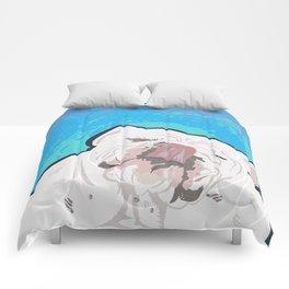 Bulldog Slurp Comforters