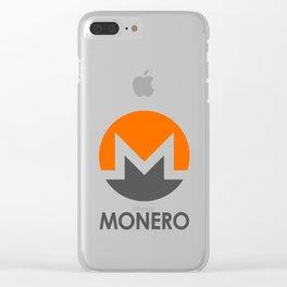 MONERO Clear iPhone Case