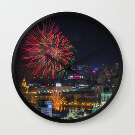 Firework collection 2 Wall Clock