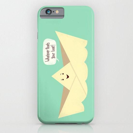 Happy boat iPhone & iPod Case