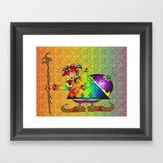 Moheem Framed Art Print