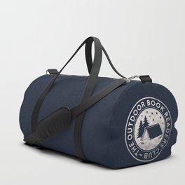 Outdoor Book Readers Club badge Duffle Bag