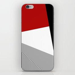 Modern geometry iPhone Skin