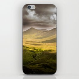 Up To The Mountains iPhone Skin